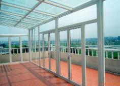 安徽阳光房清洗,天桥玻璃顶清洗工程