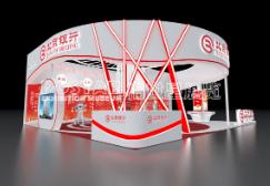 台北放心企业形象展台设计完善的服务