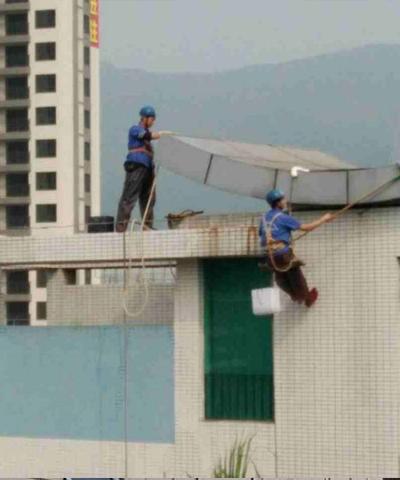 深圳最好的高空清洁清洗服务保障第一